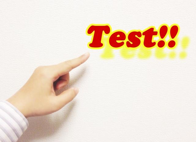 インターナショナルスクールの定期試験