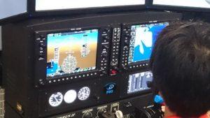 飛行機シミュレーション