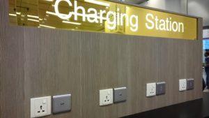 チャンギ空港 充電ステーション
