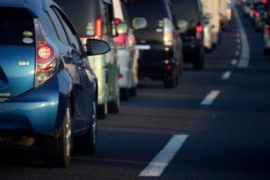 道路の大渋滞
