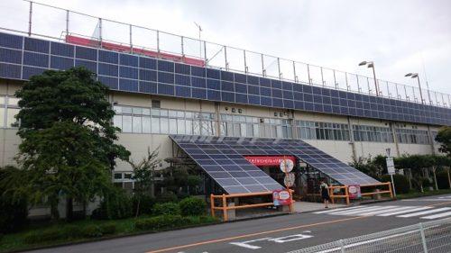 キリンビバレッジ湘南工場入口