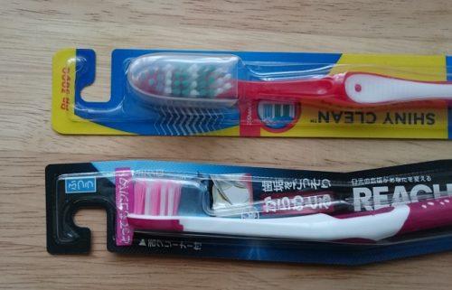 マレーシア・日本 歯ブラシ
