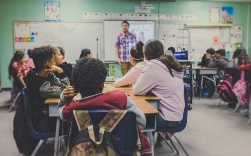 海外留学・学校の授業風景
