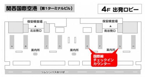 エアアジア関空チェックインカウンター