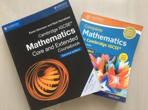 IGCSEの数学教科の失敗しない選び方