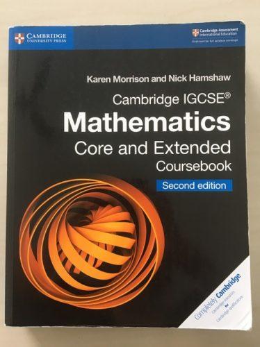 IGCSE数学カリキュラム : コア(Core)とエクステンディッド(Extended)の違い